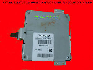 2007 Toyota COROLLA Engine Computer ECM REPAIR KIT >WE INSTALL<