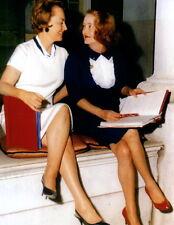 Bette Davis Olivia de Havilland  Leggy 8x10 photo P7978