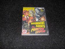 GOVERNMENT AGENTS VS. PHANTOM LEGION CLIFFHANGER SERIAL 12 CHAPTERS 2 DVDS