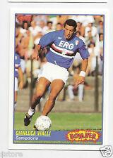 """RARE '92 SCORE """"BOMBER"""" TRADING CARD OF GIANLUCA VIALLI WITH SAMPDORIA - ITALY"""