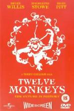 TWELVE MONKEYS GENUINE R2 DVD BRUCE WILLIS BRAD PITT MADELINE STOWE NEW/SEALED