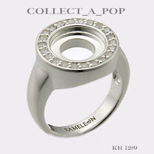 Authentic Kameleon Sterling Silver Ring With CZ Size 6 KR012#6  RETIRED