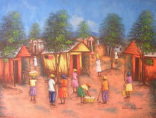 Beautiful Original Paintingby Haitian Artist Wilder ST LOUIS