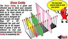 Morton Glass Holder Storage - Caddy  for hobby sheets