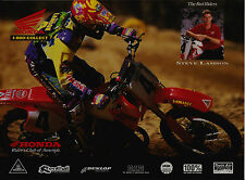 1994 HONDA STEVE LAMSON MOTOCROSS PHOTO PRINT CR250R CR125R CR500R CR80R