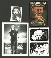 Marlene Dietrich Movie Actress Fab Card Collection A