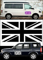 UNION FLAG Car/Van/ caravan/ boat Window Sticker - 2ft x 1ft EACH 600X300MM