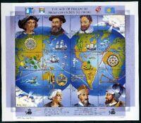 Palau ZD-Bogen MiNr. 531-50 postfrisch MNH Entdeckung Amerikas (CB412