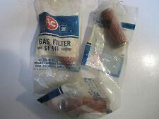 68-76 GM AC Delco Fuel Filter (3) NOS GF441 5650906