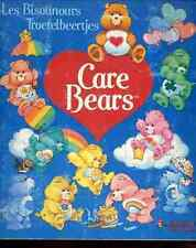 ALBUM FIGURINE PANINI Complet BISOUNOURS CARE BEARS stickers image vignette card