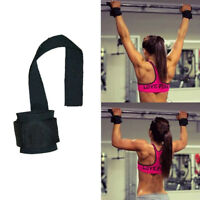 Padded Weight Lifting Training Gym Strap Hand Bar Wrist Support Gloves Wrap