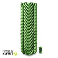KLYMIT Static V Sleeping Pad GREEN Lightweight Camping - CERTIFIED REFURBISHED