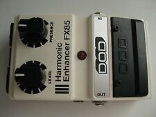 Vintage DOD FX85 Harmonic Enhancer Booster Guitar Effect Pedal USA