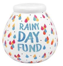 POT OF DREAMS RAINY DAY FUND MONEY BOX NEW BOXED GIFT
