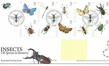 GB - FIRST DAY COVER - FDC - COMMEMS -2008- INSECTS - Pmk TH