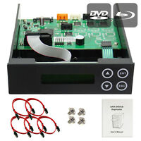 1-2-3 Blu-ray CD/DVD/BD SATA Duplicator Copier CONTROLLER+Cables,Screws & Manual