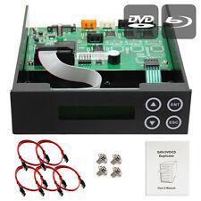 1-2-3 Blu-ray CD/DVD/BD SATA Duplicator Copier CONTROLLER+Cables,Screws & Manual