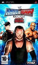 Smackdown VS Raw 2008 WWE ( PSP ) NUOVO