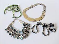 Job Lot Bundle Of Necklaces Costume Jewellery Topshop Zara