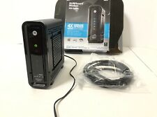 Motorola Arris SB6121 SURFboard DOCSIS 3.0 Cable Modem (TESTED / WORKS)