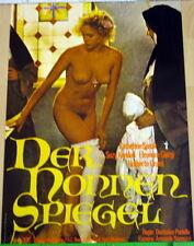 Catherine Spaak DER NONNENSPIEGEL original Kino Plakat A1 gerollt