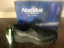 Nautilus Safety Footwear Composite Toe Slip Resistant N110 Mens Size: 7