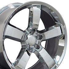 "20"" Wheels For Dodge Charger SRT8 Magnum Challenger Chrysler Chrome (Rims Set 4)"