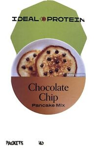 Ideal Protein Chocolate Chip Pancake Mix  18G Protein