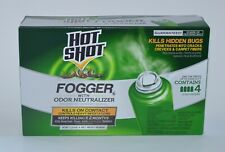 Hot Shot Fogger Odor Neutralizer Kills Ant Bug Flea Roach Mosquito Spider Killer
