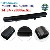 Genuine PA5185U-1BRS Battery For Toshiba Satellite C50D C55 C55D L55 PA5184U 45W