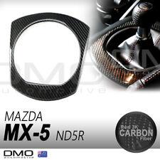 Mazda MX-5 Miata ND 2015-on OKAMI Aero Shift Gear Surround Cover Carbon Fiber