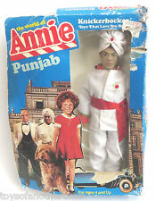 Little Orphan Annie the Movie Punjab Doll Knickerbocker NRFB 1982 Action Figure