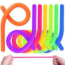 X6 Stretchy Fidget Noodle String Toy Autism ADHD Anxiety Squeeze Fidget Sensory