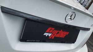 Mercedes C63 W204 C class Rear Carbon Fibre Tailgate Boot Lid
