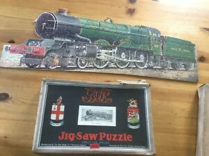 Vintage Chad Valley GWR Vintage Jigsaw Puzzle Of Steam Train King George V