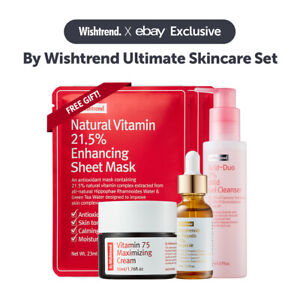 [eBay Exclusive Box] By Wishtrend Ultimate Skincare Package/ Free Gift