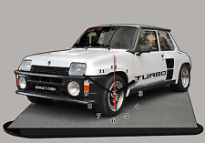 RENAULT 5 TURBO, R5 TURBO,  Reloj en modela miniatura 07