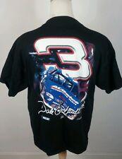 Vintage Dale Earnhardt Sr #3 T Shirt XL Black Chase NASCAR Intimidator Racing