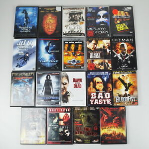 19 DVD's - FSK 18 - Horror - Action - Sammlung - Paket - Konvolut