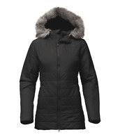 The North Face Women's Harway Insulated Parka Jacket - Black - XS