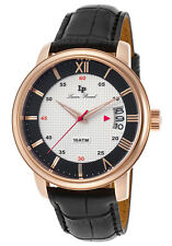 Lucien Piccard Amici White & Black Dial Mens Watch LP-40019-RG-02S-BC