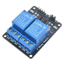 5V 2 Channel Relay Board Module for Arduino Raspberry Pi ARM AVR DSP PIC New.