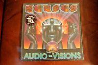 Kansas Audio Visions Kirshner Label 1980 Orig Shrink Hype Sticker All NM