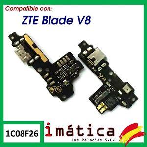 PLACA DE CARGA PARA ZTE BLADE V8 PLACA MICRO USB MICROFONO CONECTOR PIEZA PUERTO