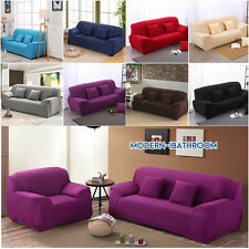 Strech Tight 1-4 Seaters Furniture Spandex Slipcover Armchair Sofa Couch Covers