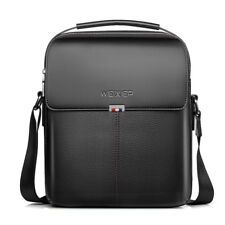 Men's Genuine Leather Tote Bag Handbags Satchel Cowhide Shoulder Messenger Bags