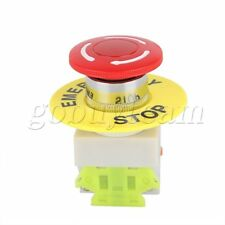 NC Emergency Stop NO Red Green Push Button Switch Station 600V 10A R1Y1