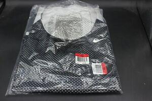 Men's Nike Sports Reversible tank shirt Sz L/XL Jersey Black/White 707064