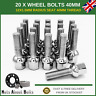 20 x M12X1.5 Wheel Bolts 40mm Extra Long Radius Seat Nuts For Mercedes