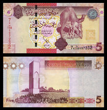 Libya 5 Dinars ND(2012) UNC**New